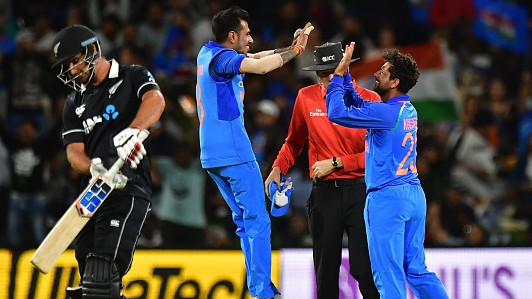NZ v IND 2019: 2nd ODI – Kuldeep Yadav's 4/45 helps India go 2-0 up in the series with a 90-run win