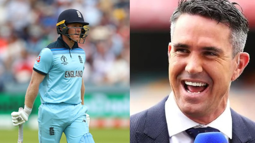 CWC 2019: Eoin Morgan responds to Kevin Pietersen's jibe of him being scared of Mitchell Starc