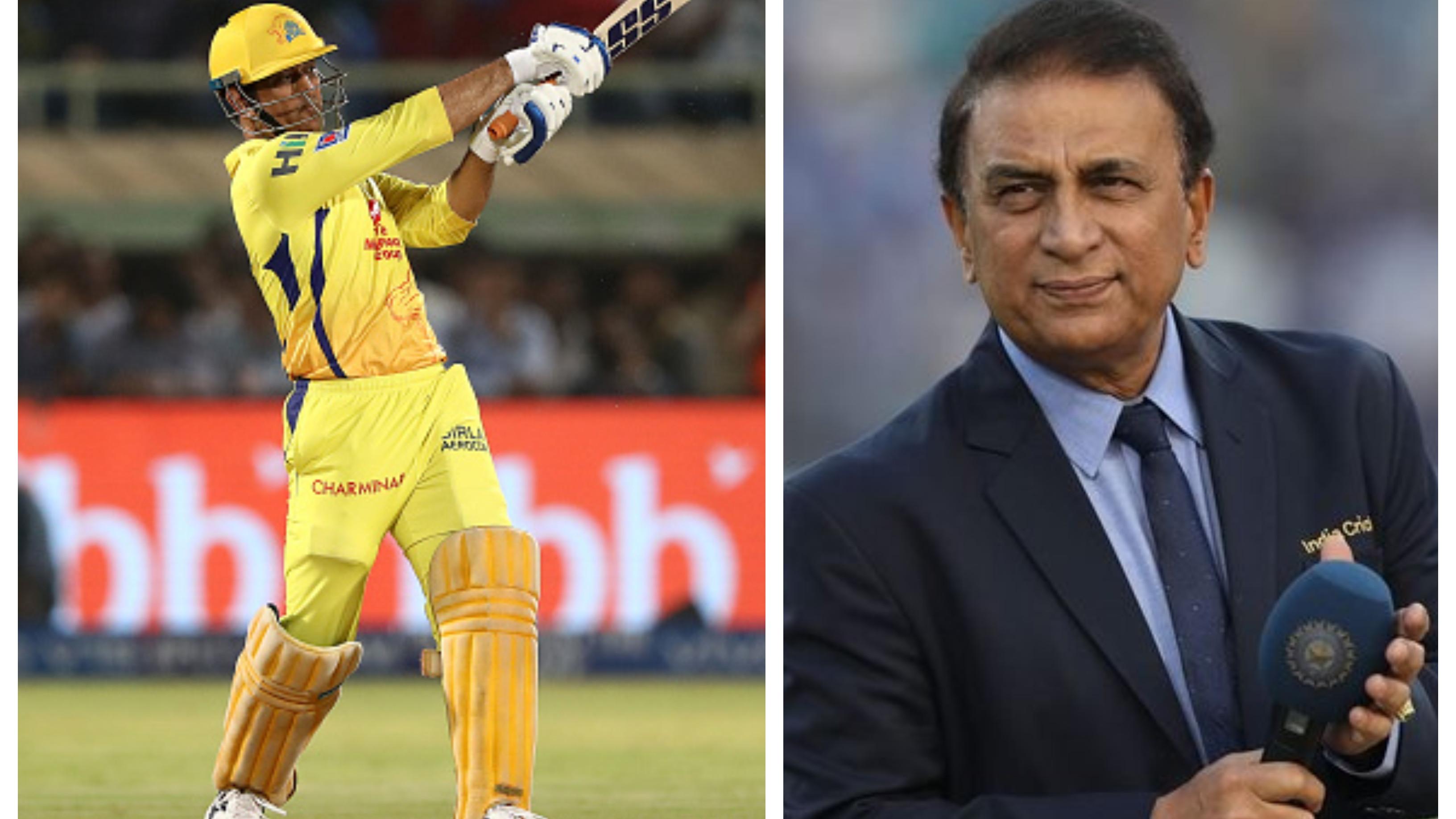 IPL 2021: Sunil Gavaskar names MS Dhoni as captain in his all-time IPLXI