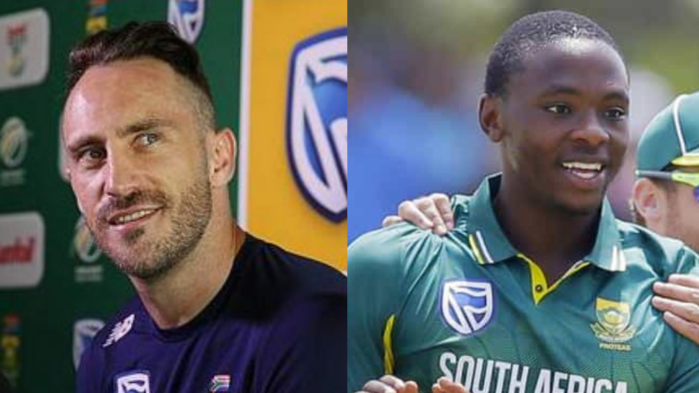 AUS v SA 2018: Faf du Plessis excited to see Kagiso Rabada renewing his rivalry with the Aussies