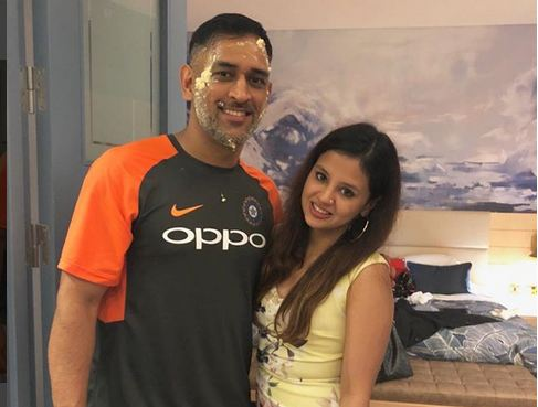 MS Dhoni is celebrating his 37th birthday with wife Sakshi, daughter Ziva and Indian teammtes in England | Sakshi Dhoni Instagram
