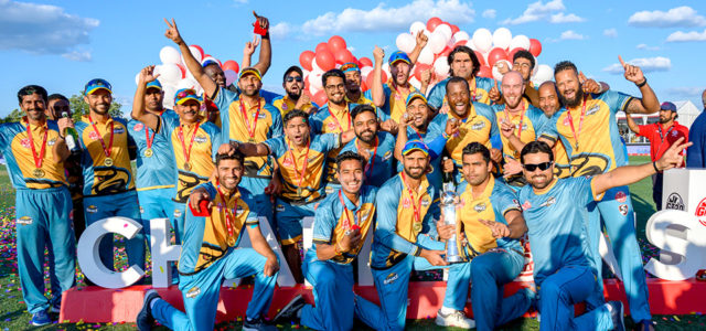 The Global T20 Canada 2019 saw Winnipeg Hawks beating Vancouver Knights at the CAA centre in Brampton