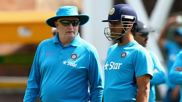 Gary Kirsten praised Duncan Fletcher and MS Dhoni for India's transition after 2011