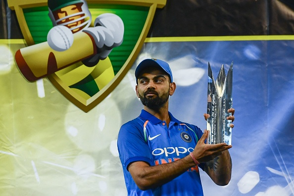 Kohli led India to its maiden bilateral ODI series win Down Under | Getty