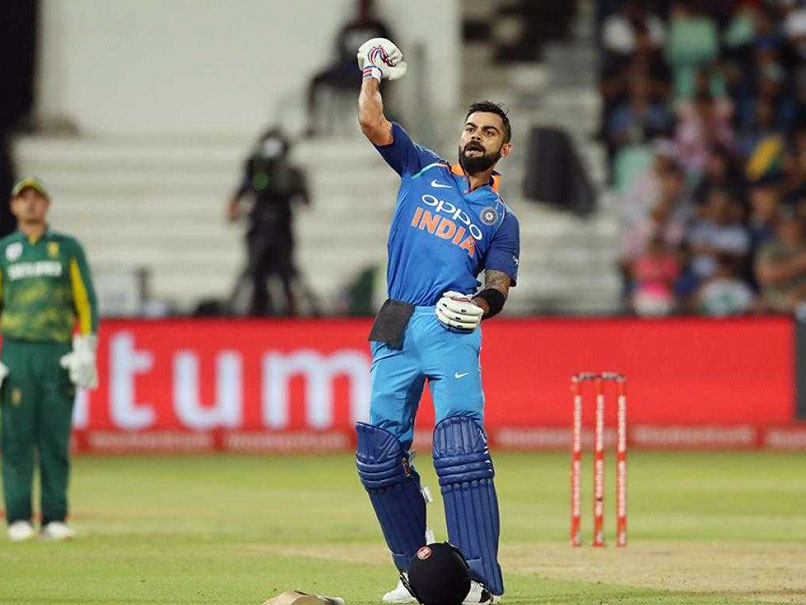 Virat Kohli celebrating his 33rd ODI ton against the Proteas in Durban | BCCI