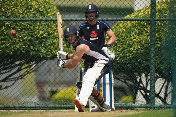 Jos Buttler during net session at Pallekelle Stadium | Getty Images