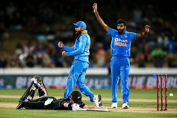 Bumrah was not as lethal in this three-ODI series | Getty