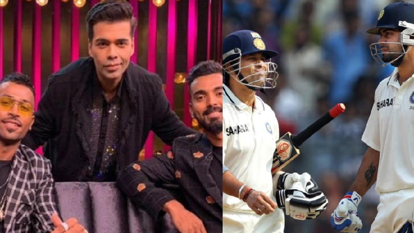 WATCH: Hardik Pandya and KL Rahul pick the best batsman between Sachin Tendulkar and Virat Kohli