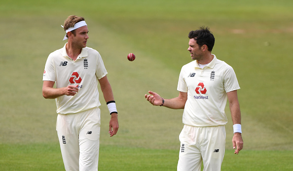 Stuart Broad and James Anderson | Getty