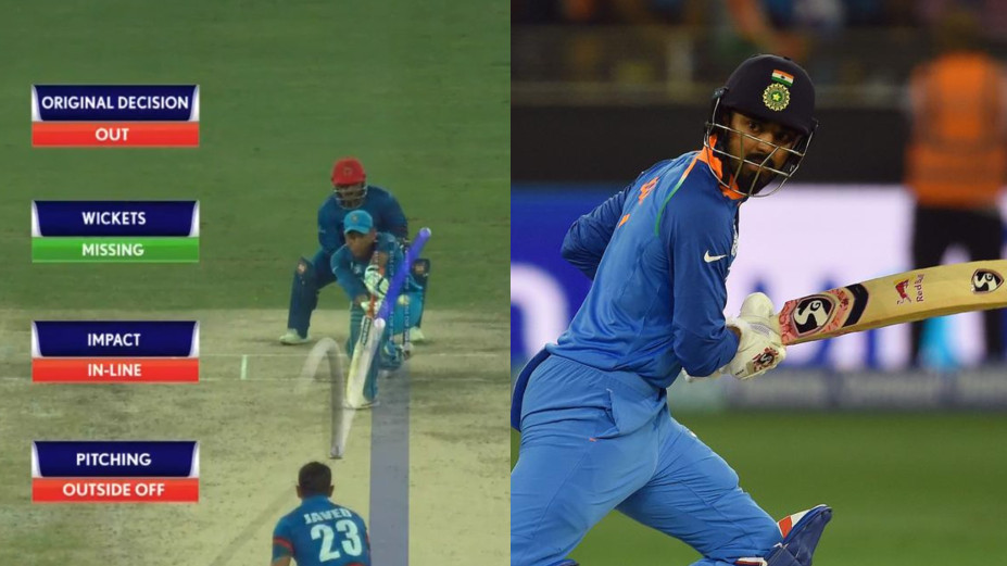Asia Cup 2018: Fans lashed out at KL Rahul for wasting review as Dhoni and Karthik dismissed on wrong decisions