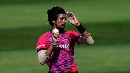 ईशांत शर्मा के दो विकेट लेने के बावजूद ससेक्स को ग्लॅमॉर्गन के हाथो मिली हार