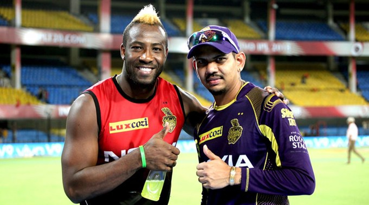 Andre Russell with the bat and Sunil Narine with both bat and ball are KKR's trump cards | Twitter