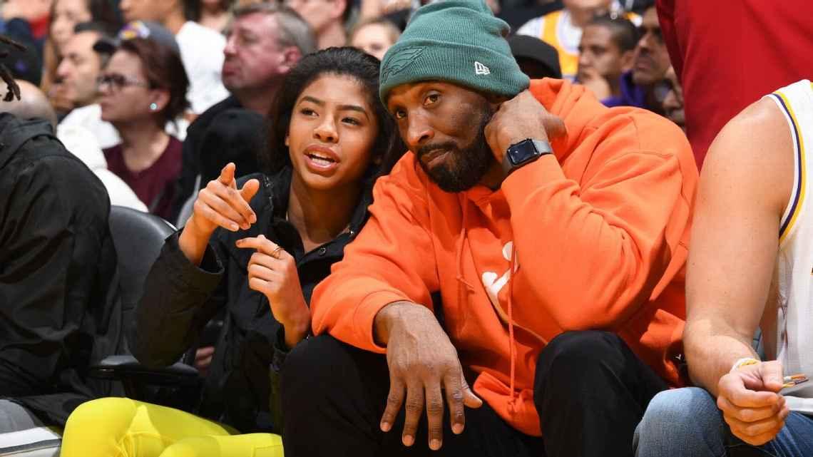 Kobe with daughter Gianna