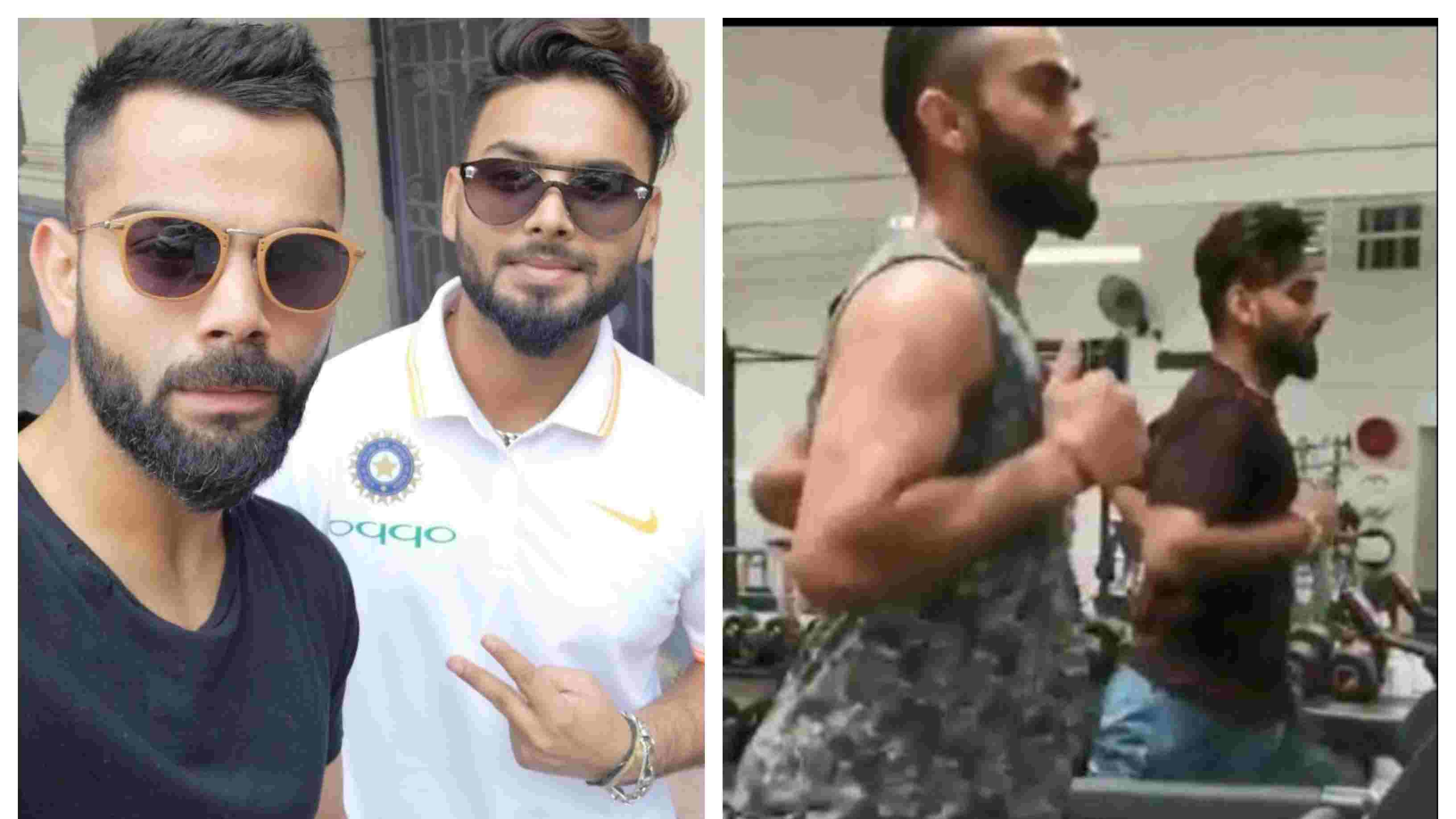 AUS v IND 2018-19: WATCH – Virat Kohli trains with Rishabh Pant after landing in Australia