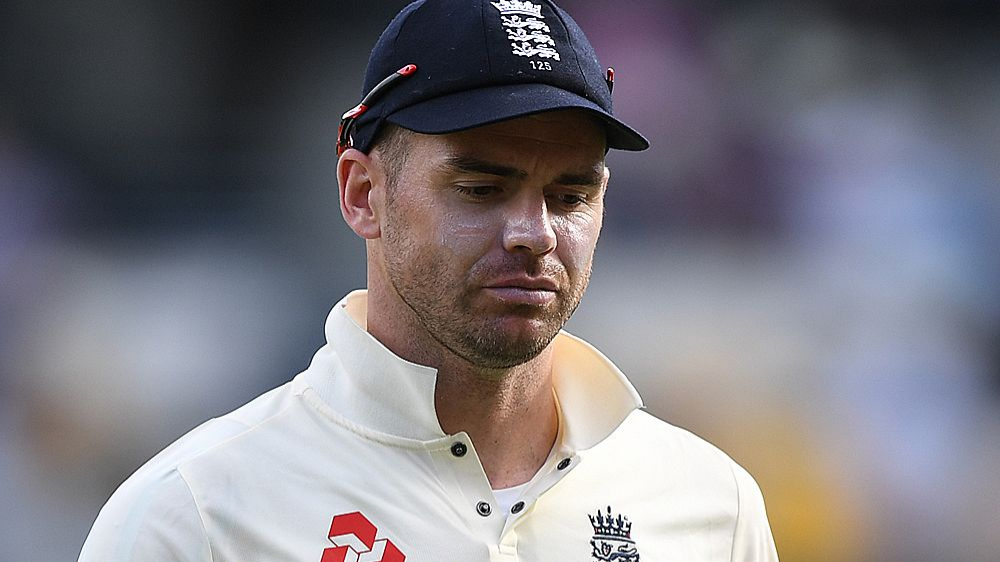 James Anderson ruled out from the game for six weeks with shoulder injury