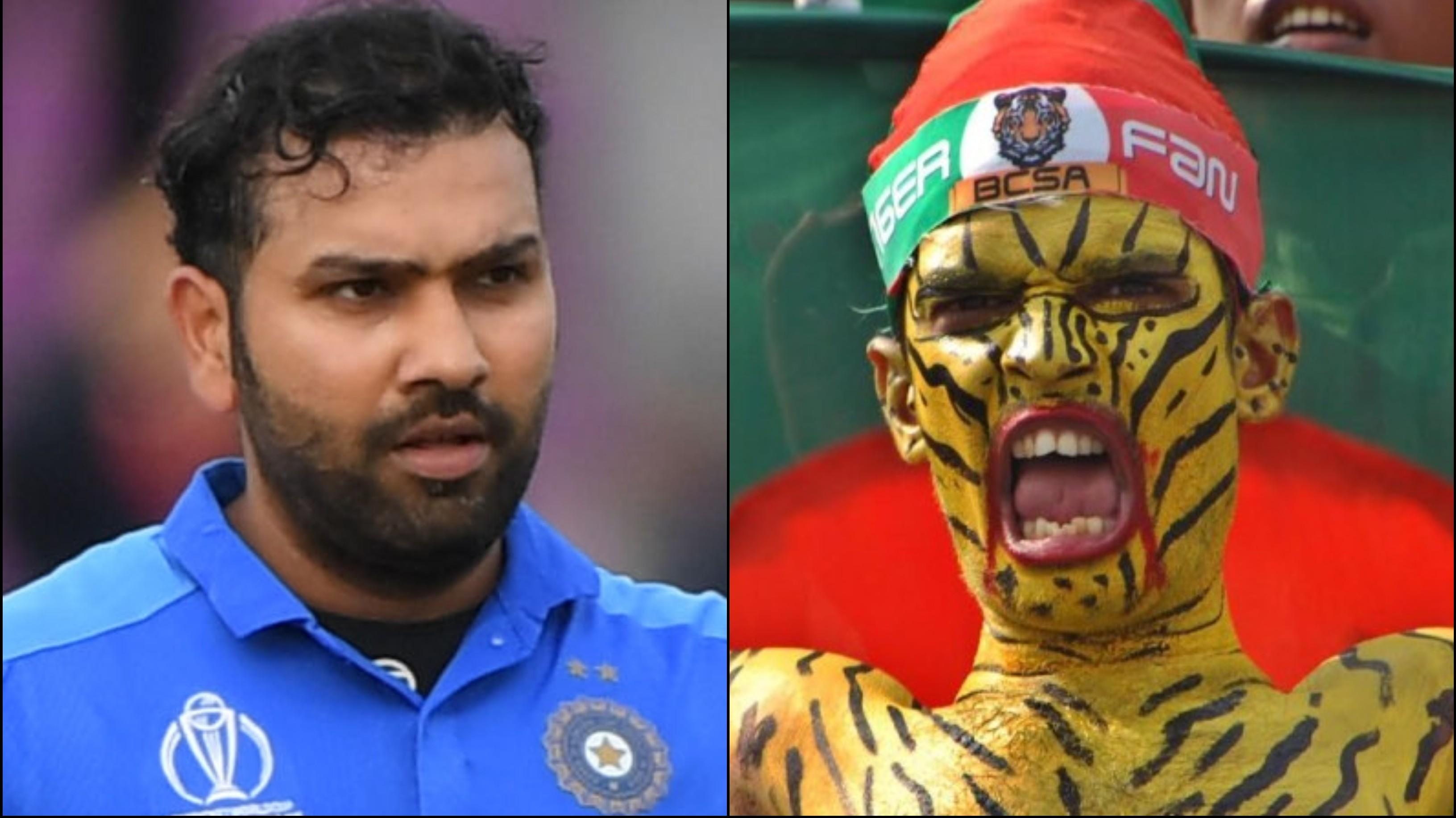 IND v BAN 2019: रोहित शर्मा ने बांग्लादेशी फैन की मदद कर दिलवाया मैच का टिकट
