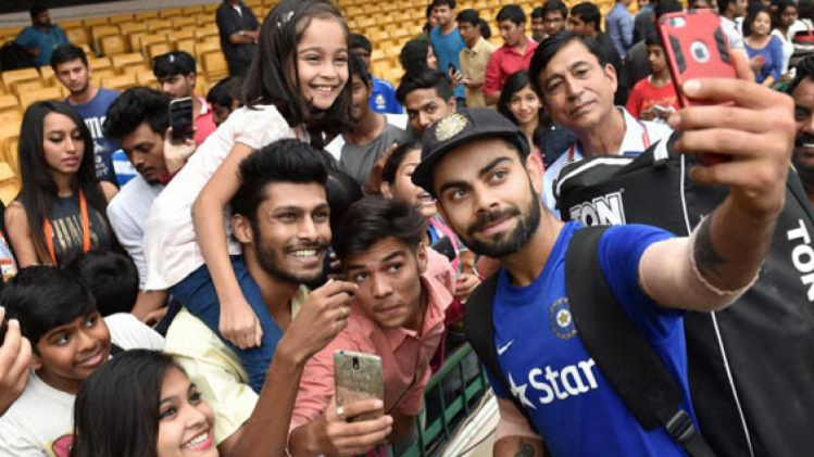 Virat Kohli says that he gets uncomfortable with the fan frenzy in India