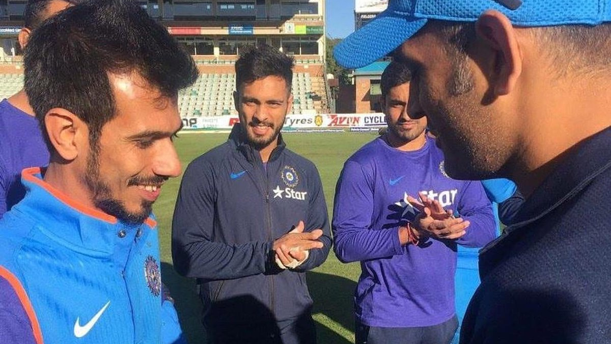 Yuzvendra Chahal says getting ODI cap from MS Dhoni was a dream come true for him
