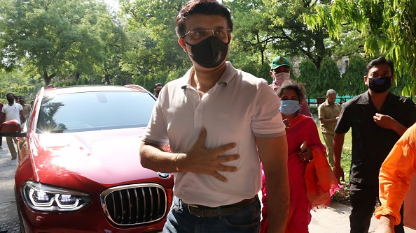 WATCH- Sourav Ganguly urges fans to stay indoors in the fight against Coronavirus
