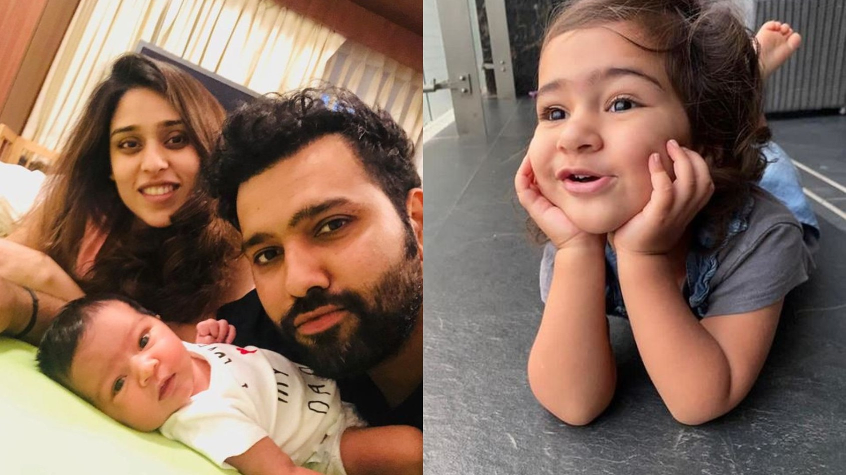 """Happy birthday,"" Rohit Sharma and wife Ritika wish daughter Samaira as she turns two"