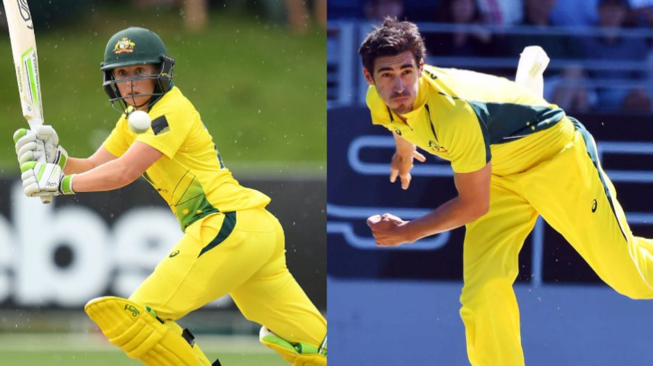 Proud Mitchell Starc lauds wife Alyssa Healy for her maiden international century
