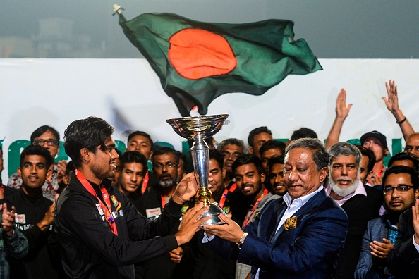 Bangladesh Under-19 received grand welcome in Dhaka | Getty Images