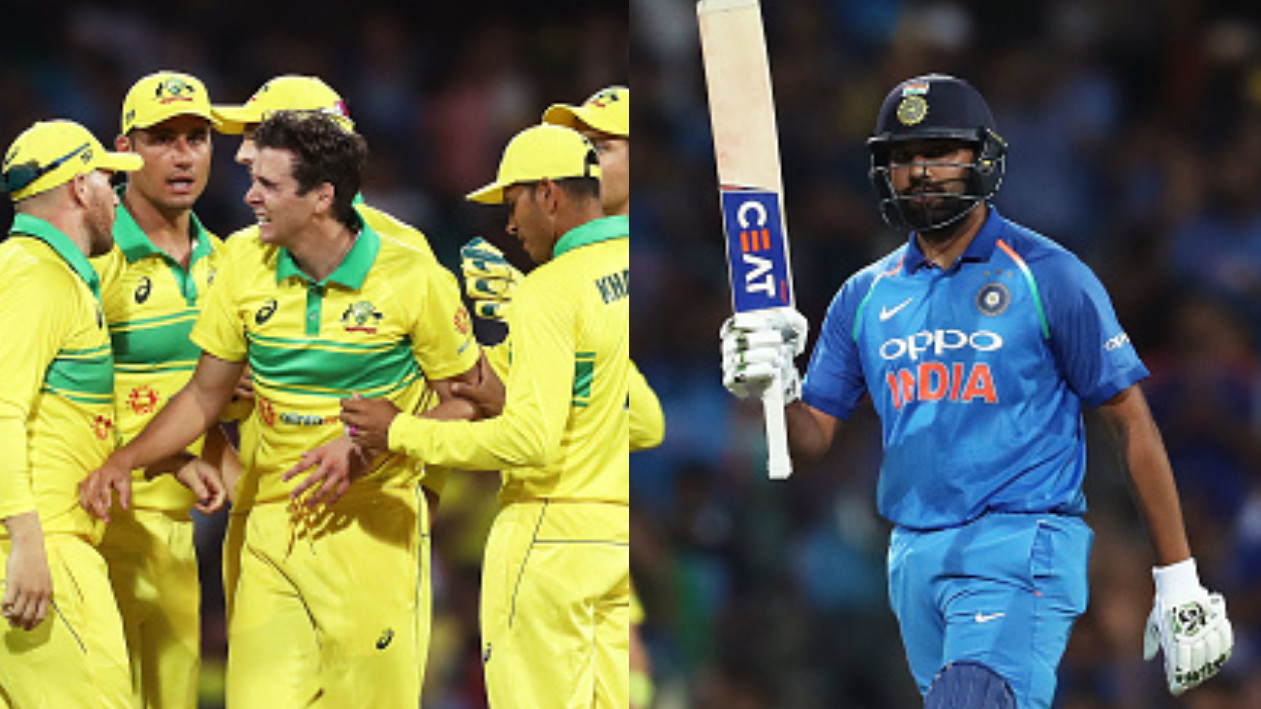 AUS v IND 2018-19: 1st ODI –  Jhye Richardson's 4/26 hands Australia 34-run win despite Rohit's valiant 133
