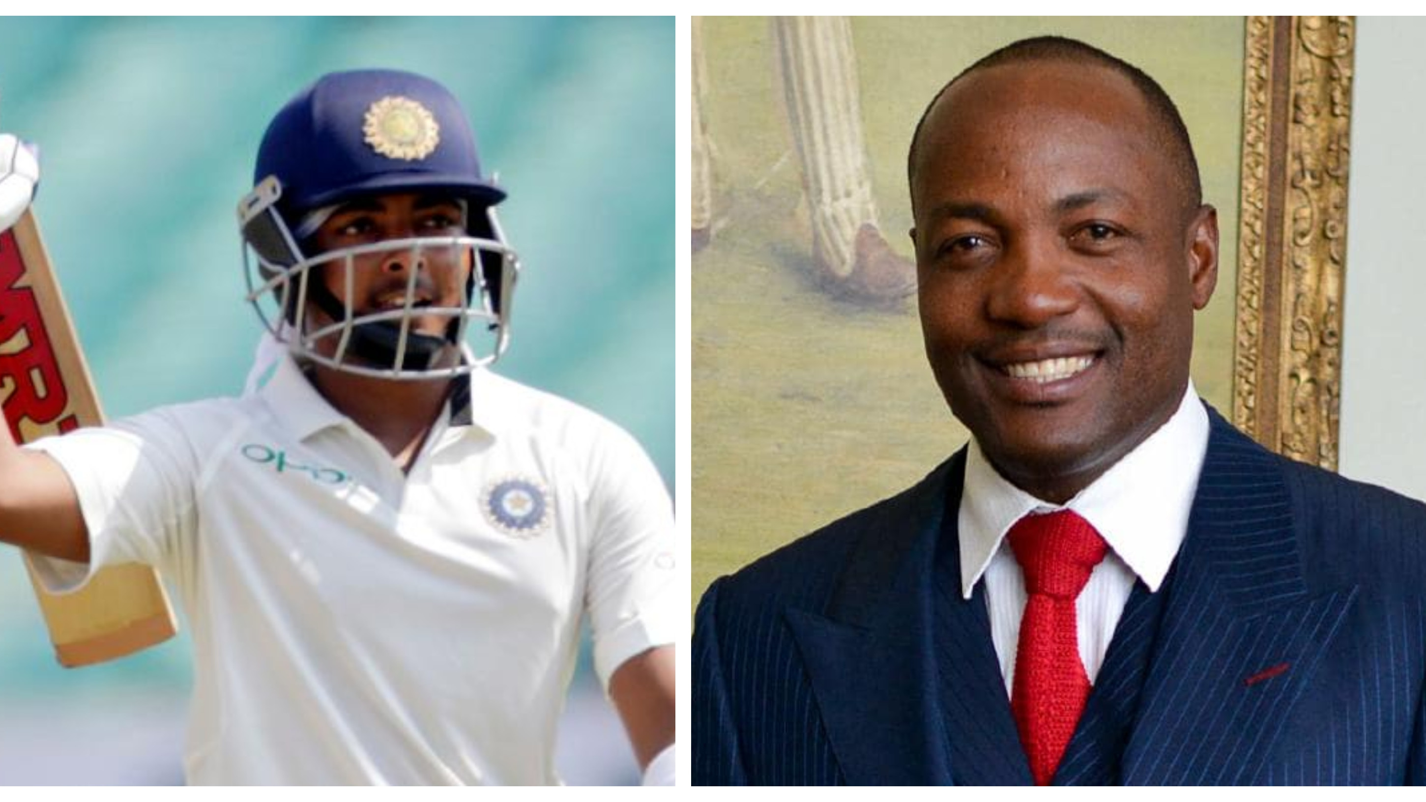 IND v WI 2018: Prithvi Shaw's batting style more of a mix of Tendulkar and Sehwag, not me, says Brian Lara
