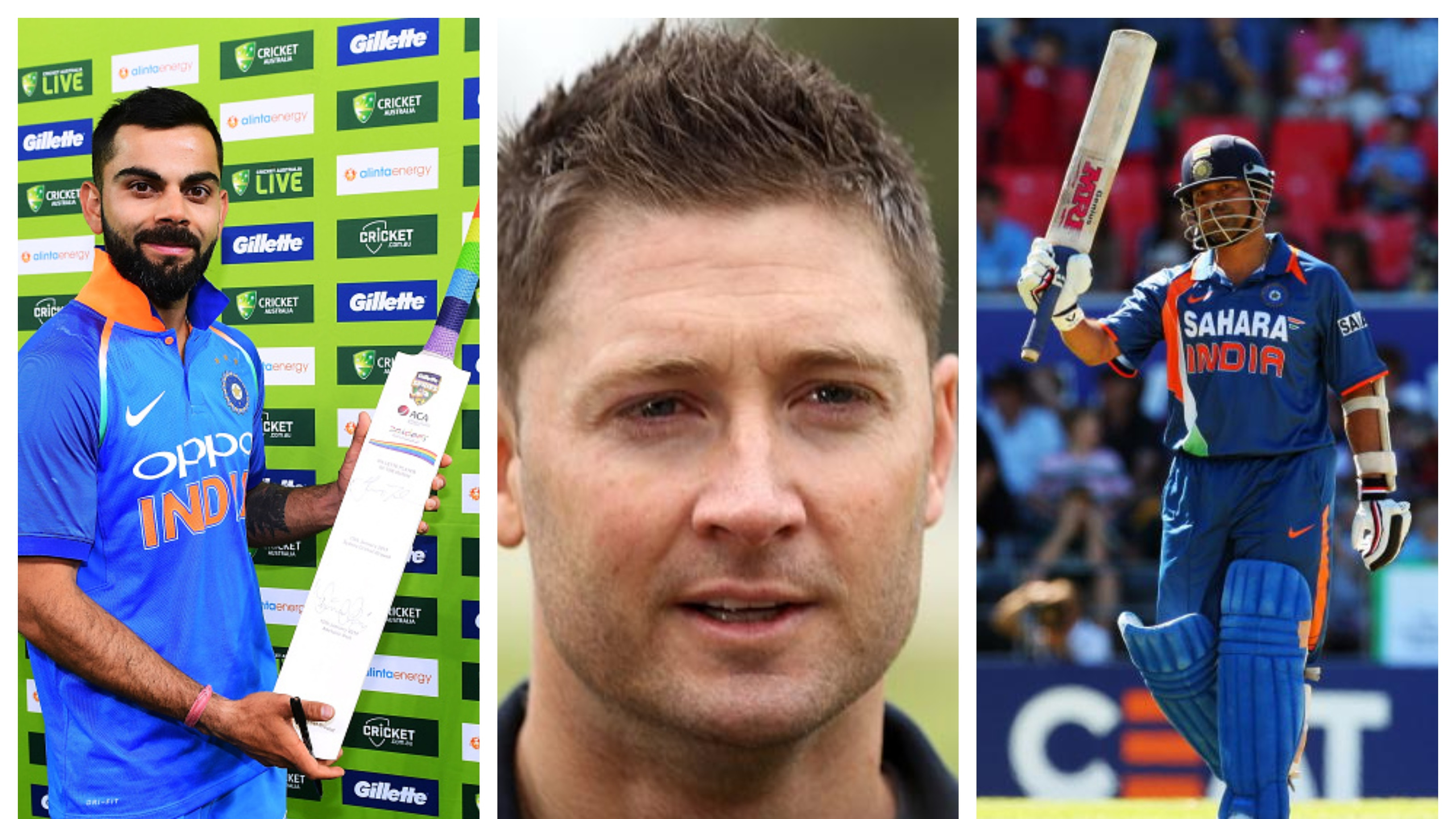 Tendulkar or Kohli, Michael Clarke picks his greatest ODI batsman