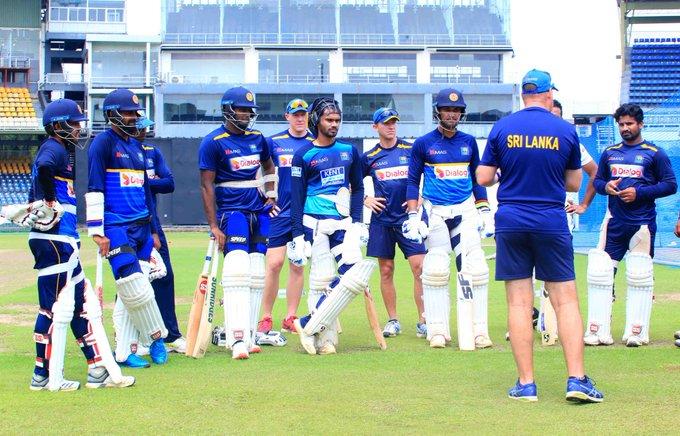 Sri Lanka likely to resume training next month   Twitter