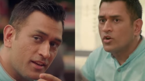 WATCH: Netmeds brand ambassador MS Dhoni shoots for television commercial