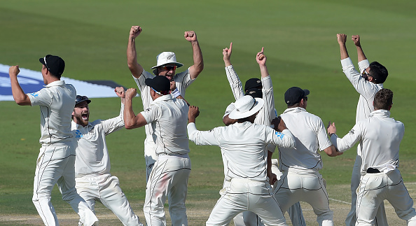 New Zealand won the first Test by a very narrow margin of 4 runs | Getty