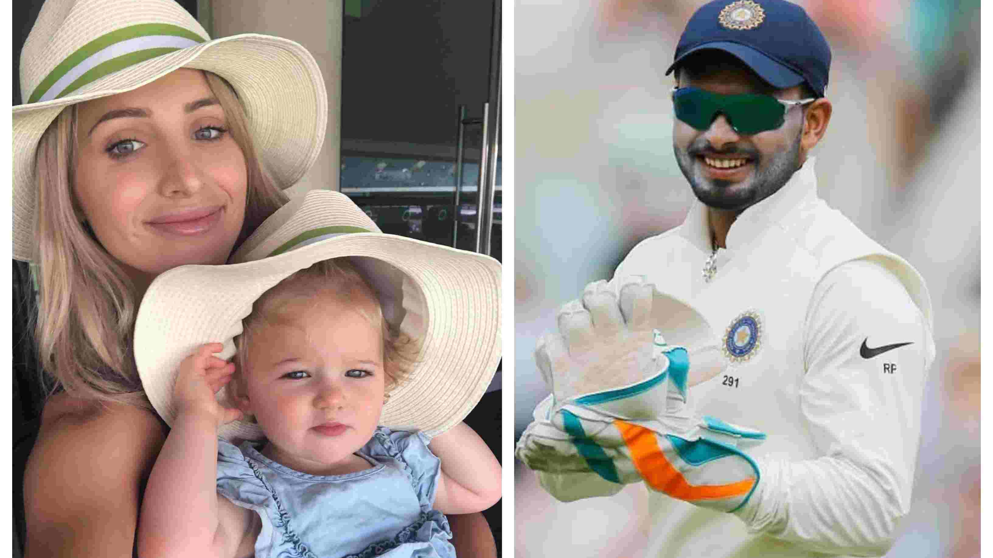 AUS v IND 2018-19: Tim Paine's wife invites Rishabh Pant to babysit her kid