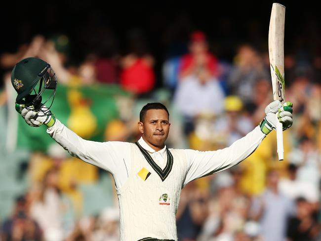 Khawaja scored 171 in Australia's first innings in Sydney. (Getty)