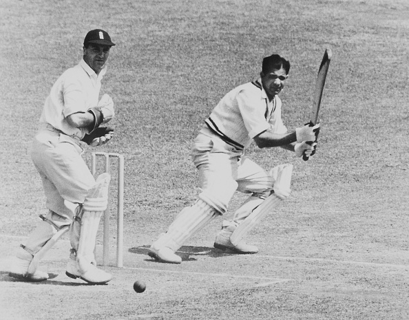 Vinoo Mankad on his way to a brilliant 184 at Lord's | Getty
