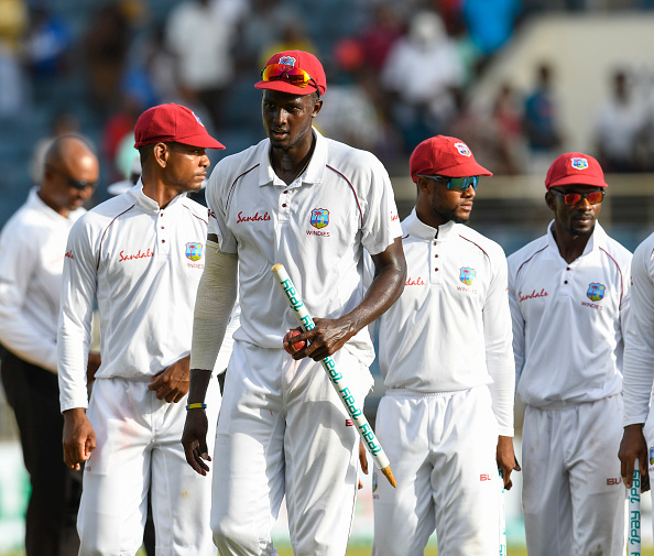Jason Holder led his team from the front | Getty