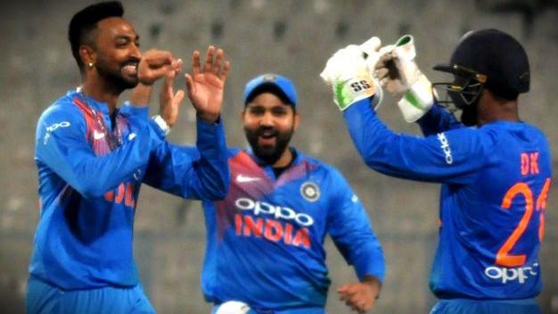IND v WI 2018 : क्रुणाल पांड्या के कोच जितेंद्र सिंह डेब्यू मैच में ऑलराउंडर के प्रदर्शन से हैं संतुष्ट