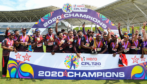 Trinbago Knight Riders won the CPL 2020 | Getty Images