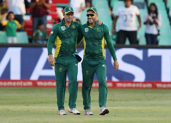 AB de Villiers and Faf du Plessis | Getty Images