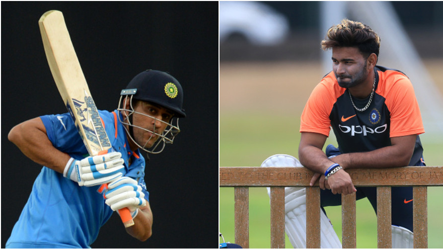 Rishabh Pant opens up on his comparison with veteran MS Dhoni