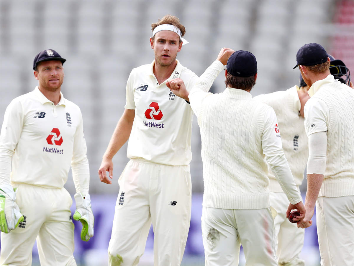 Stuart Broad picked six wickets in the match after missing the first Test