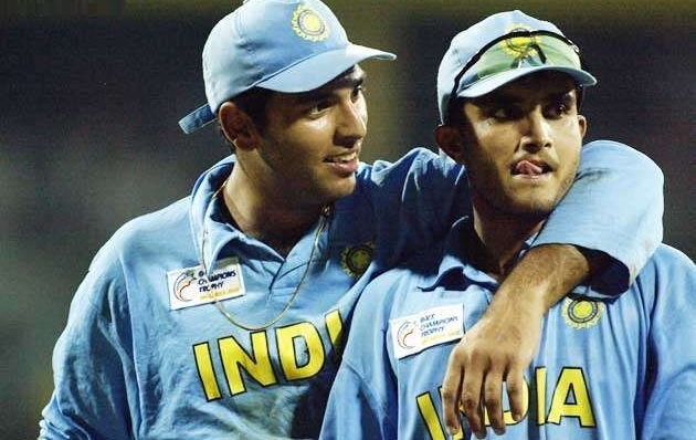 Yuvraj also played under Ganguly | Getty Images