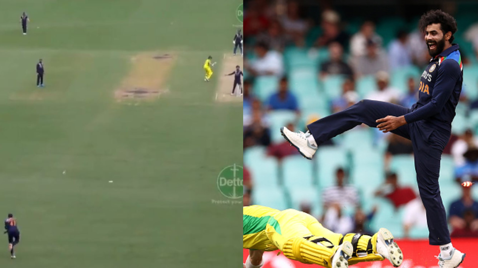 AUS v IND 2020-21: WATCH- Shreyas Iyer runs out David Warner with a direct hit from long-off