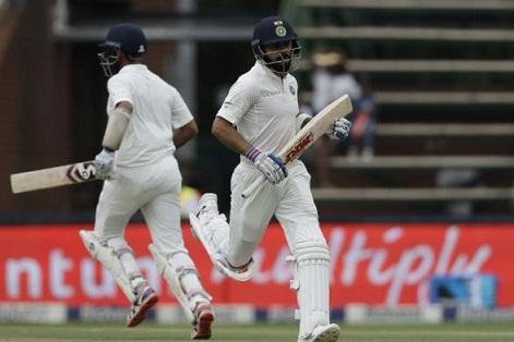 Virat Kohli and Cheteshwar Pujara | AP