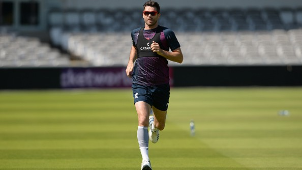 James Anderson to train at Manchester City's Etihad campus in bid to recover from injury