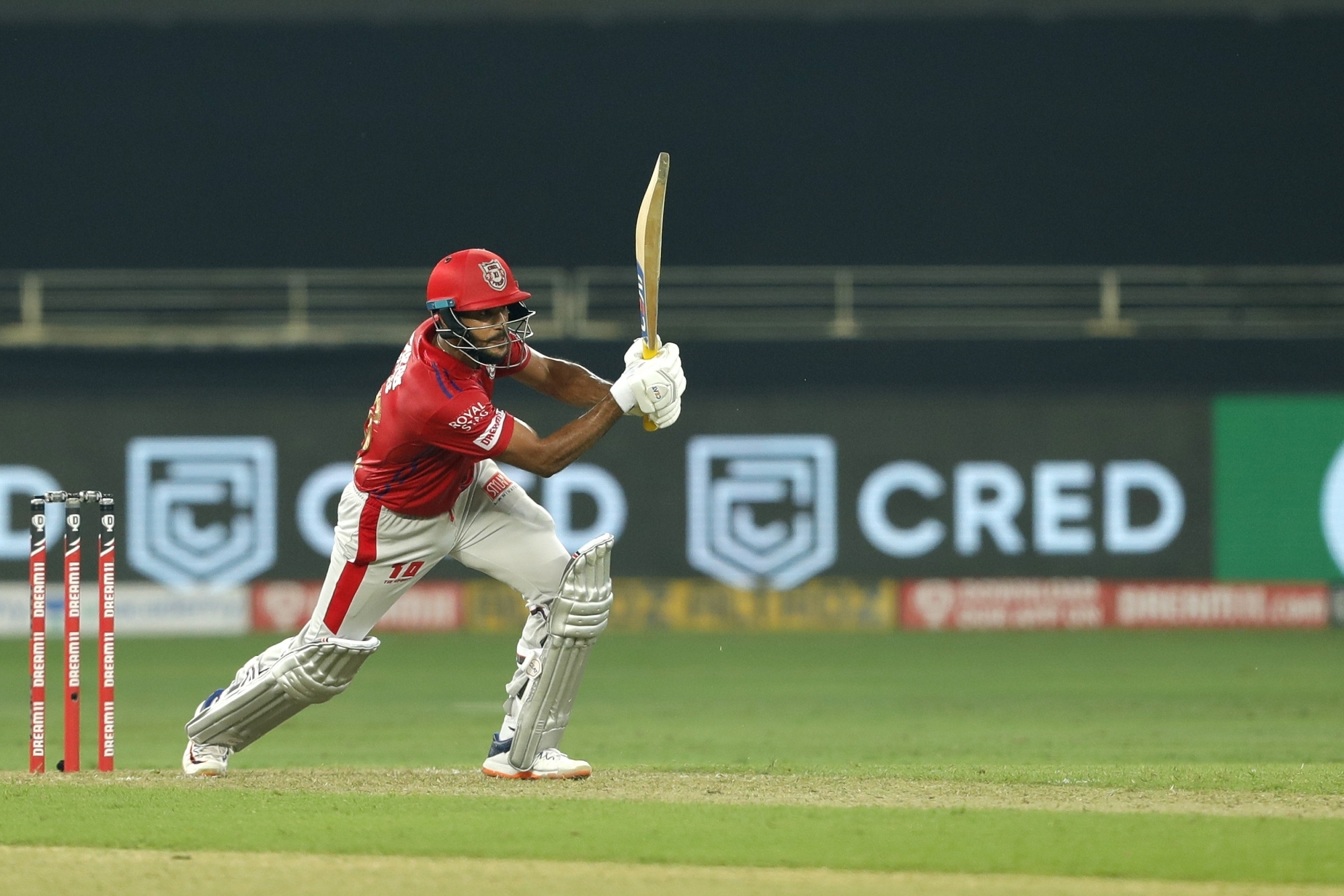 Mayank Agarwal made his IPL best 89 and almost won the match for KXIP | IANS