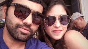 Ritika Sajdeh wishes Rohit Sharma on Valentine's Day; Mumbai Indians joins in