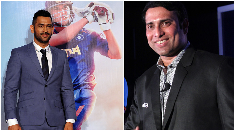 VVS Laxman baffled by MS Dhoni's struggle after watching his biopic