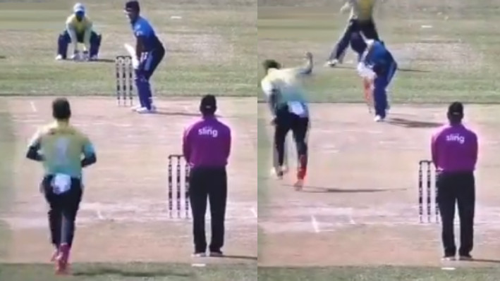 WATCH - Unmukt Chand gets out for a duck on his Minor League Cricket debut