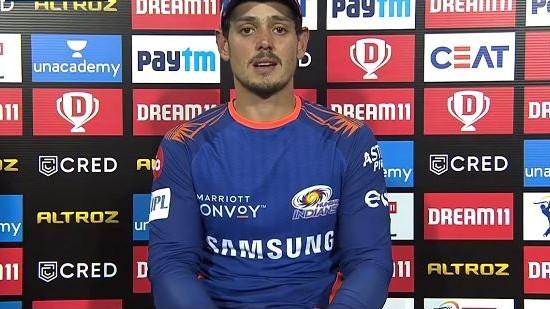 IPL 2020: 'Experienced middle-order helps, but we always look to get good starts', says Quinton de Kock